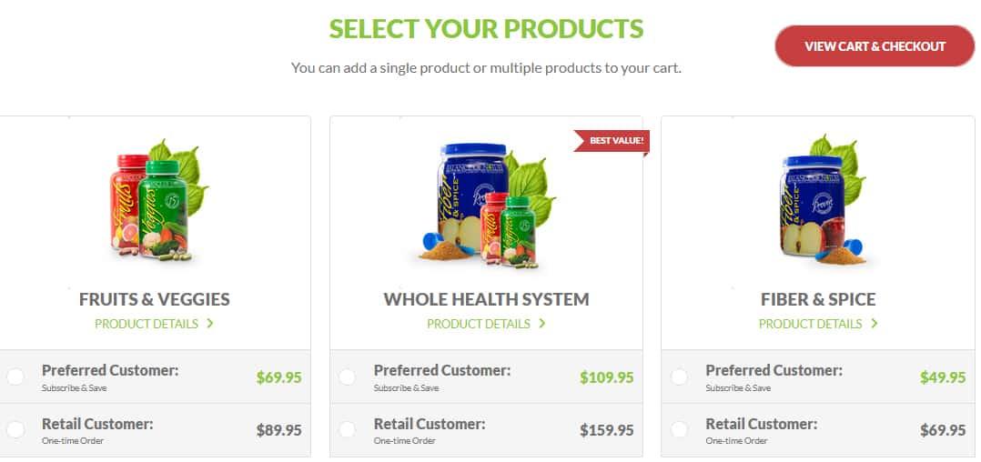 Balance of Nature Pricing