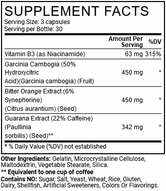 Clenbutrol Supplement Facts