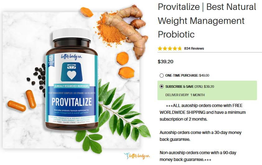 Provitalize Discount Coupon