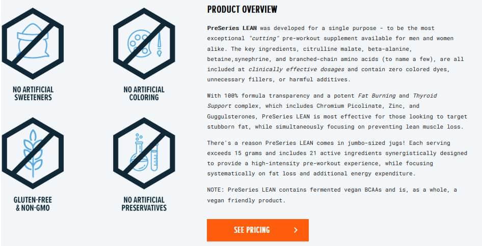 Transparent Labs LEAN Coupon